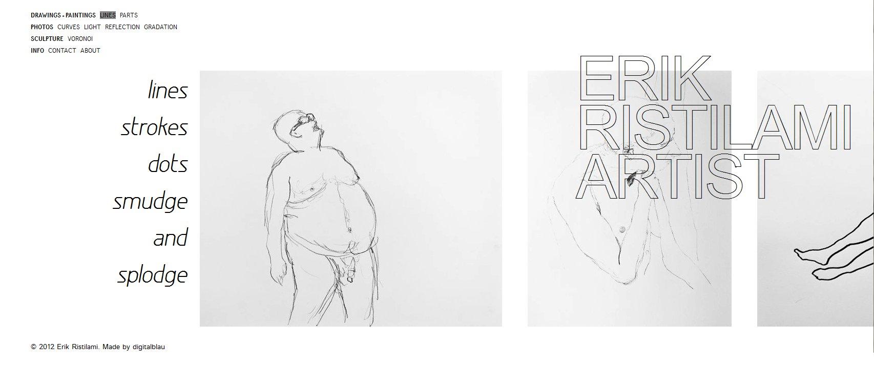 Erik Ristilami Screenshot Lines